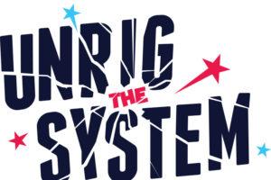 unrig the system logo